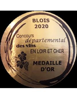 médaille or concours départemental des vins en Loir-et-Cher