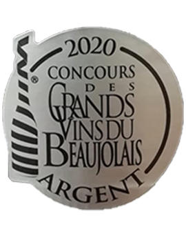 médaille argent concours des grands vins du Beaujolais