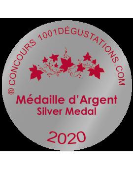 médaille argent concours 1001 dégustations