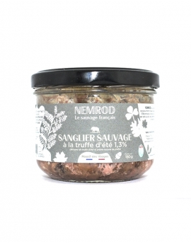 terrine sanglier sauvage truffe d'été Nemrod